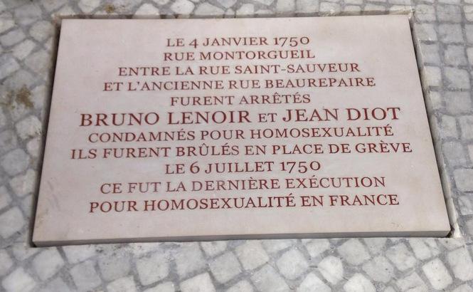 Paris : Appel à un rassemblement après la profanation de la plaque mémorielle Bruno Lenoir et Jean Diot