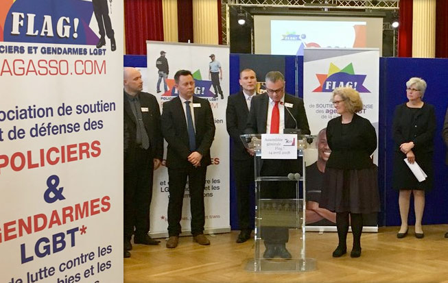 En 2017, Flag ! aura effectué 42 interventions en écoles de police et de gendarmerie et sensibilisé plus de 6 400 élèves