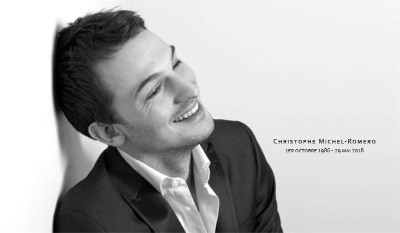 « Chris, même la mort ne brisera pas cet amour fou qui nous a permis de mener tant de combats », Jean-Luc Romero-Michel