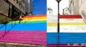 La ville de Nantes porte plainte après la dégradation des «Marches des fiertés» : une « expression manifeste d'homophobie »