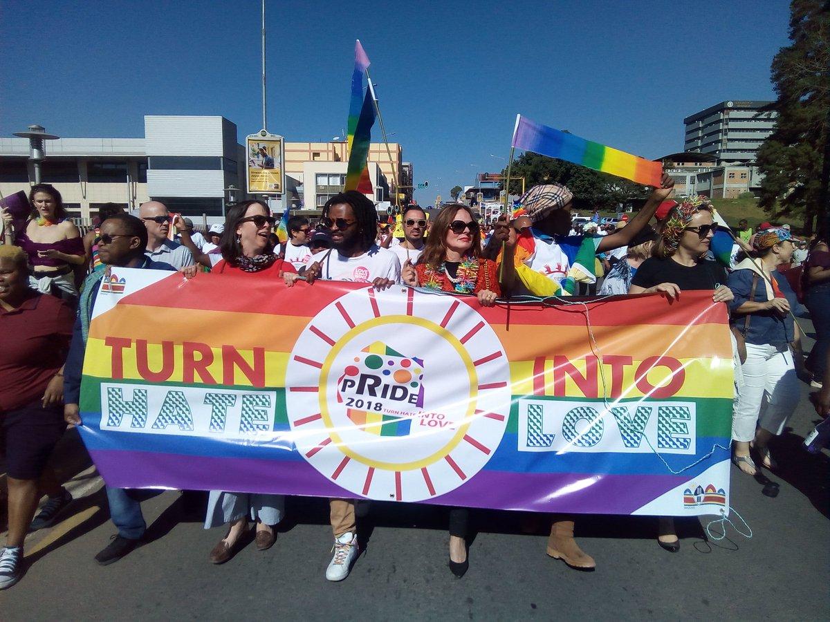 Afrique : Une première marche des fiertés en « eSwatini » où l'homosexualité est interdite par la monarchie (VIDEOS)