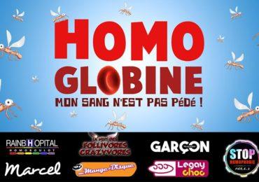 Homoglobine : l'expo « improbable » pour dénoncer les conditions d'accès au don du sang des hommes gays et bis