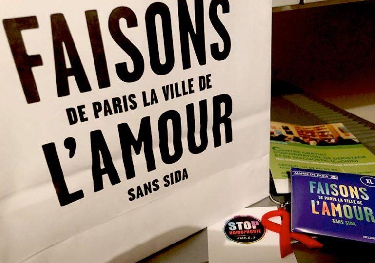 Lutte contre le sida : Paris reste mobilisée et lance une campagne pour promouvoir le dépistage du VIH