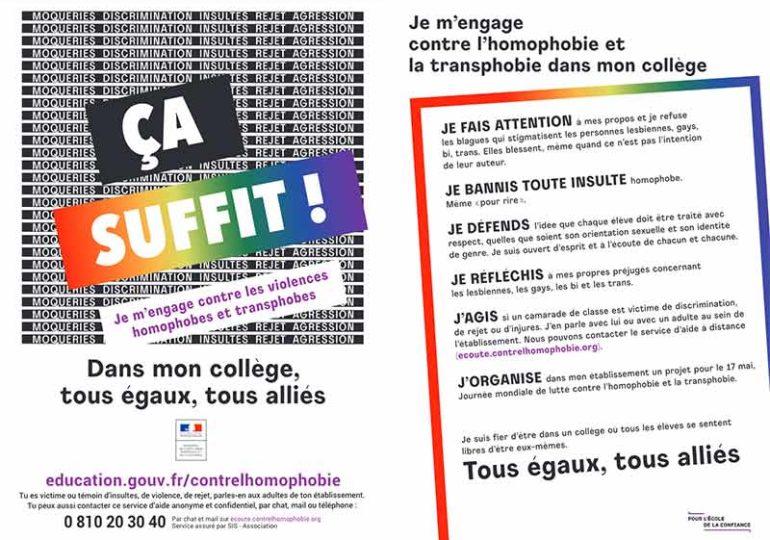 « Tous égaux, tous alliés », la nouvelle campagne gouvernementale pour lutter contre l'homophobie et la transphobie à l'école
