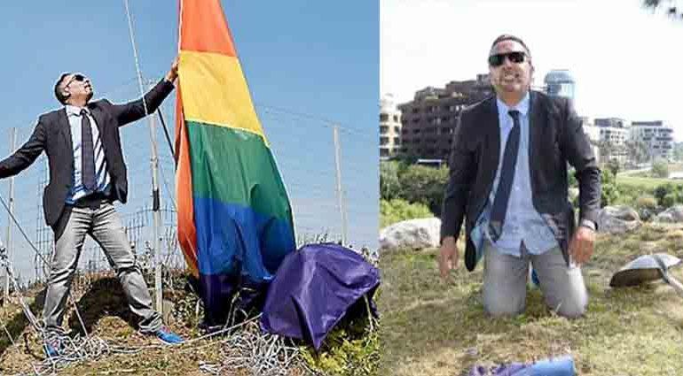 Prison avec sursis et 5 ans d'inéligibilité pour l'élu montpelliérain, Djamel Boumaaz, qui voulait « enterrer » un drapeau arc-en-ciel