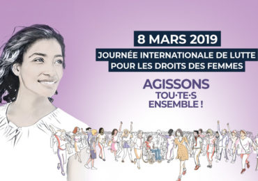 8 mars : « Agissons tou·te·s ensembles ! »