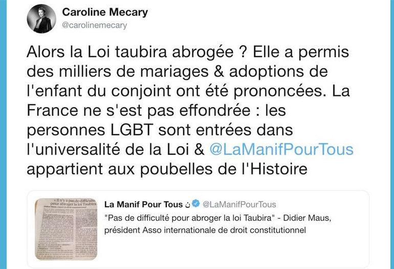 Caroline Mécary, avocate de la cause homosexuelle, mise en examen à la demande de la Manif pour tous