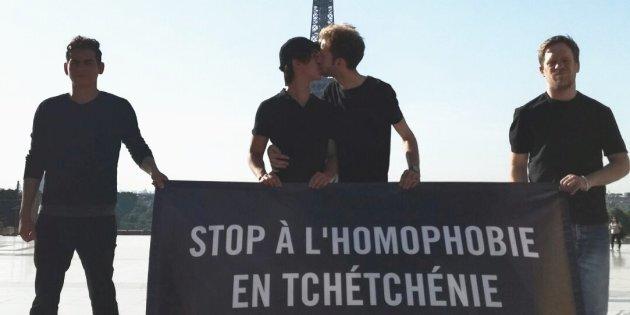 17 mai : Kiss-in en soutien aux personnes LGBTI de Tchétchénie victimes de persécutions et torture