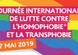 17 mai : Action de sensibilisation contre l'homophobie et la transphobie à Alfortville