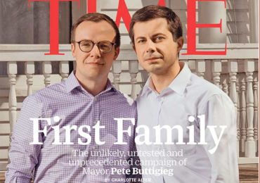 Candidat à la présidentielle américaine, Pete Buttigieg et son époux en couverture du Time (VIDEO)