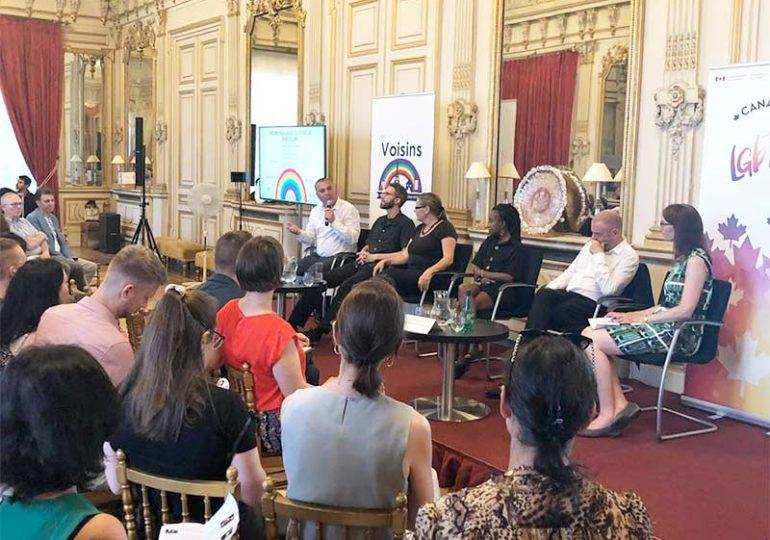 Prejudice to Pride : Table ronde sur les droits LGBT+, organisée par les ambassades Canadienne et Britannique à Paris