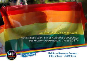 Paris : conférence-débat sur le parcours douloureux des migrants/demandeurs d'asile LGBT+