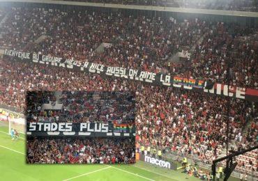 Ligue 1 : le match Nice - Marseille interrompu après des banderoles et chants homophobes