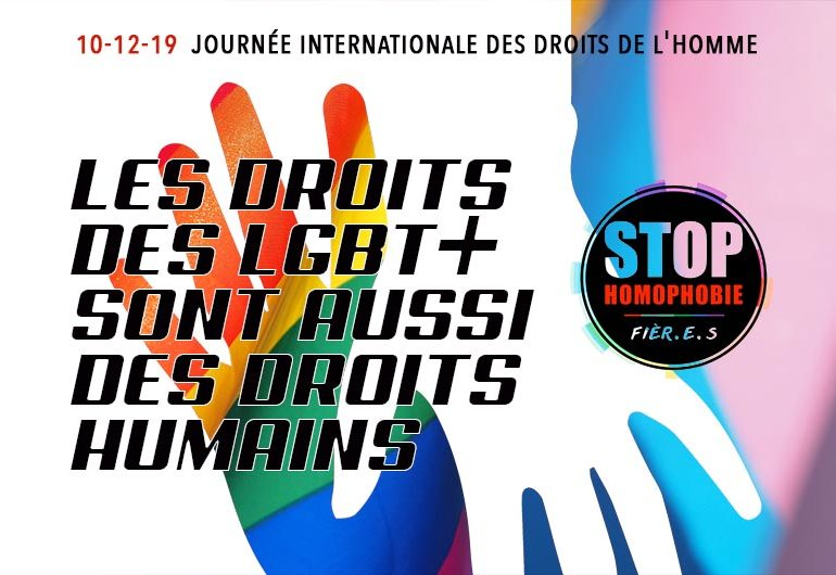 Human Rights Day : Les droits LGBT+ sont des droits humains
