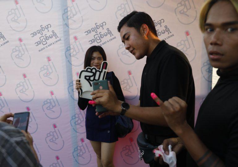 « Pink pinky » : une campagne pour dépénaliser l'homosexualité en Birmanie