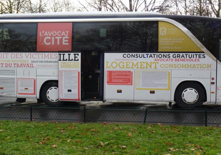 Droits des personnes LGBTQI+ : le Bus du Barreau de Paris Solidarité lance une permanence spécialisée