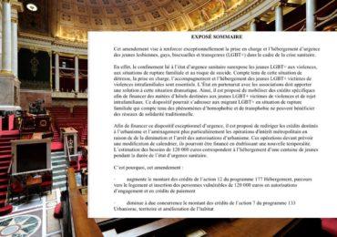 Confinement et violences intrafamiliales : des amendements en faveur des victimes LGBT+ non adoptés à l'Assemblée