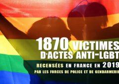 France : 1870 victimes d'actes anti-LGBT recensées en 2019 par les forces de police et de gendarmerie