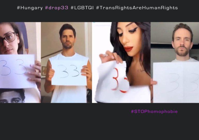 Drop33 : mobilisation contre un projet de loi hongrois visant à suspendre la reconnaissance légale du genre pour les trans