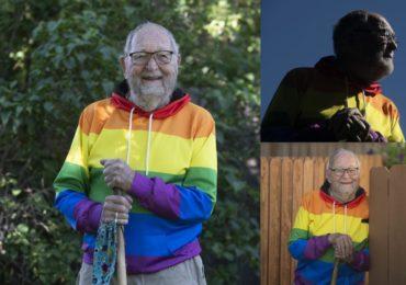 Il fait son coming out à 90 ans et s'engage pour la cause, « et ce n'est que le début ! »
