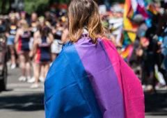 Rassemblement pour la Journée Internationale de visibilité des personnes Bisexuelles, Pan et plus