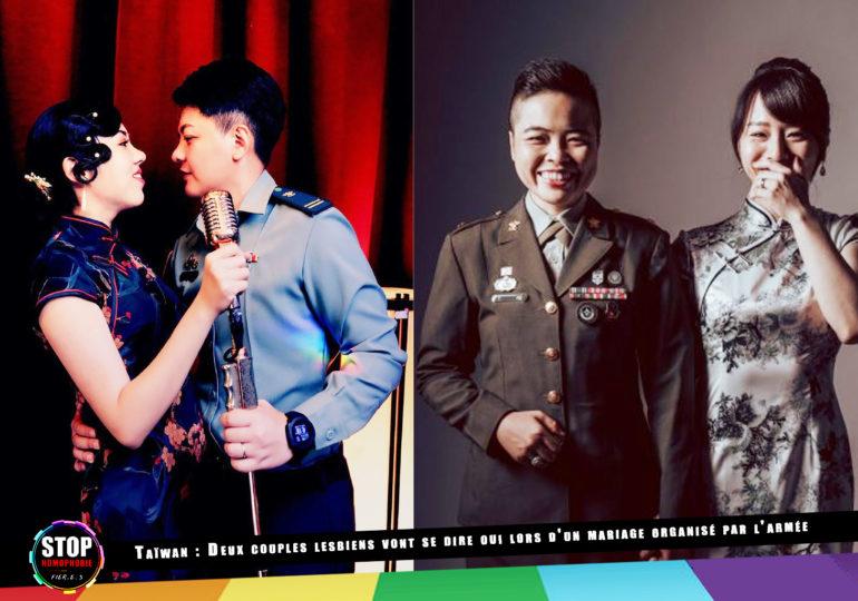 Taïwan : Deux couples de femmes se diront « oui » lors d'un mariage organisé par l'armée