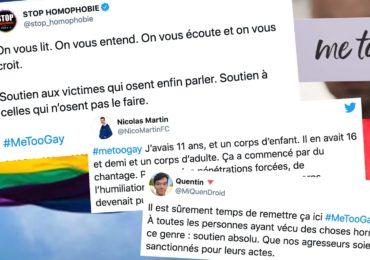 Le #MeTooGay : enfin la parole se libère aussi chez les LGBT+