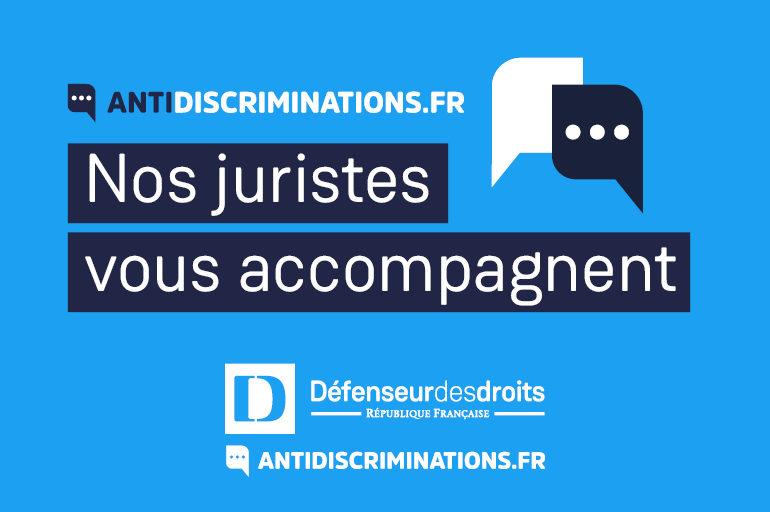 Le Défenseur des droits lance antidiscriminations.fr, son nouveau service de signalement et d'accompagnement des victimes