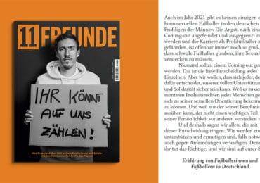 En Allemagne, plus de 800 professionnels du football manifestent leur soutien à leurs pairs LGBT