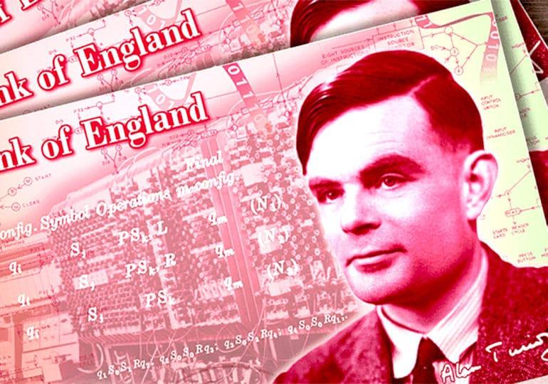 Royaume-Uni : les nouveaux billets de 50 livres à l'effigie d'Alan Turing