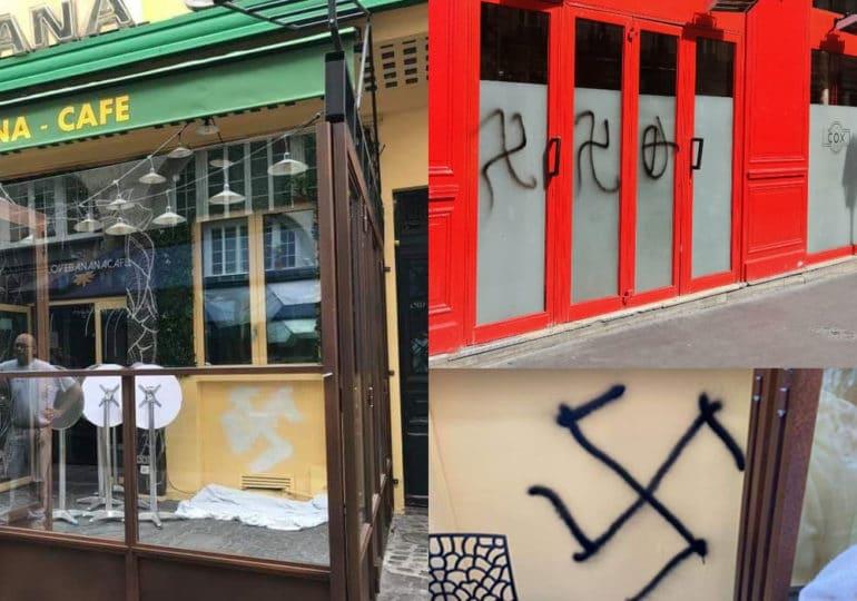 L'auteur des tags haineux sur les façades du Cox et Banana Café condamné pour « dégradation » et « injures homophobes »