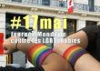 Happening devant l'ambassade du Canada à Paris ce 17 mai 2021