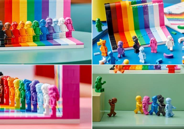 «Tout le monde est génial» : LEGO dévoile sa première collection «arc-en-ciel»