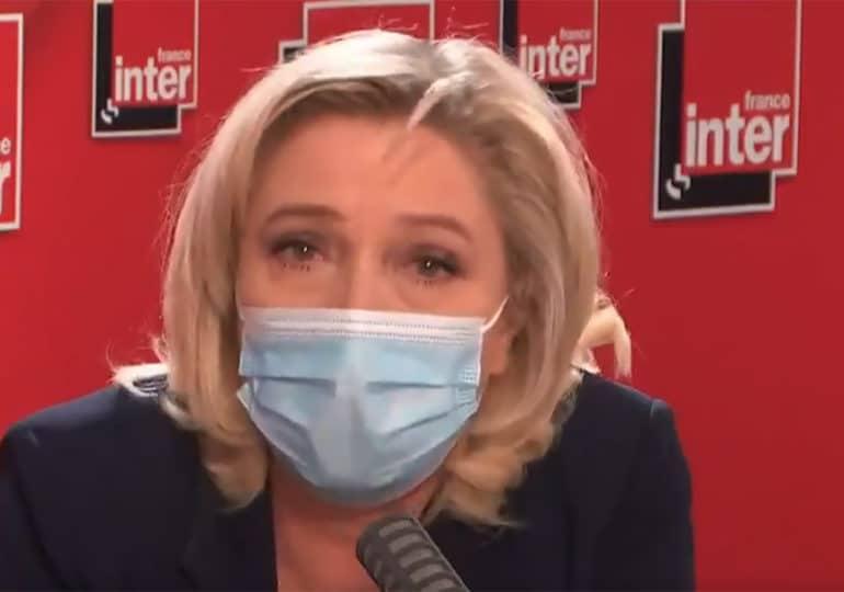 Quand Marine Le Pen approuve la politique lgbtphobe d'Orban